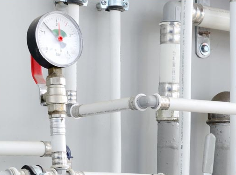 Commercial plumbing services by professional engineers