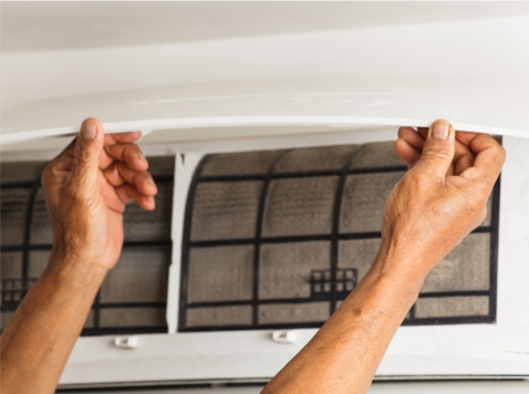 Air condition maintenance by Harrogate Plumbers in Leeds