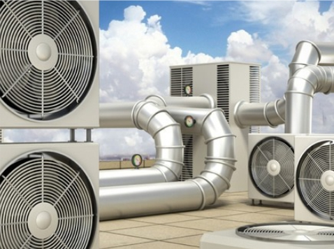 Commercial air conditioning installation by Harrogate Plumbers